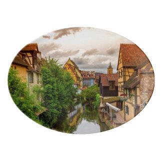 Travessa De Porcelana Pouca Veneza, pequeno Venise, em Colmar, France