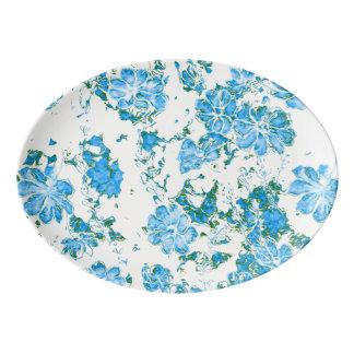 Travessa De Porcelana sonhos florais 12 E