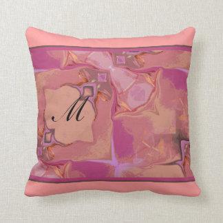 Travesseiro abstrato do quadrado de MoJo do americ
