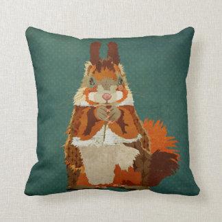 Travesseiro ambarino do esquilo