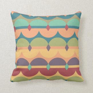 Travesseiro americano das cores do sudoeste