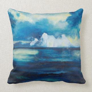 Travesseiro ártico da arte de Janet Londres Almofada