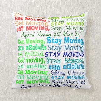Travesseiro artística da fisioterapia almofada