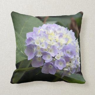 Travesseiro azul do Hydrangea Almofada