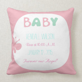 Travesseiro bonito do bebê almofada