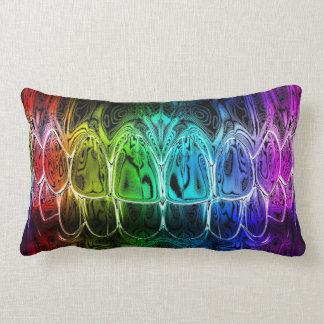 Travesseiro colorido do dentista do sorriso dos almofada lombar