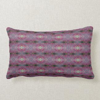 Travesseiro cor-de-rosa da natureza almofada lombar