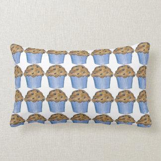 Travesseiro cozido fresco da comida dos muffin do almofada lombar