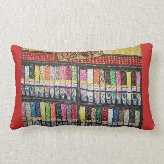 Travesseiro da arte da loja de doces almofada lombar