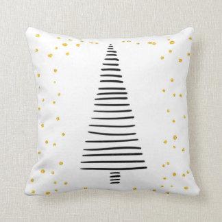 Travesseiro da árvore do inverno almofada