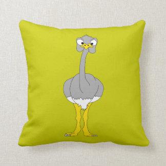Travesseiro da avestruz