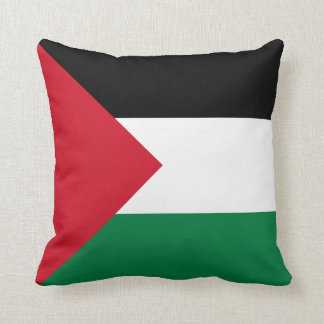 Travesseiro da bandeira de Palestina Almofada