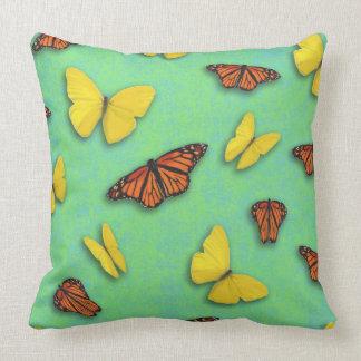 Travesseiro da borboleta almofada