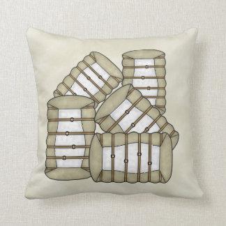 Travesseiro da caução do algodão
