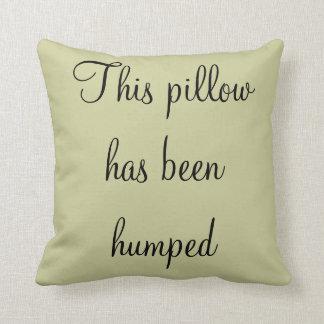 Travesseiro da corcunda almofada