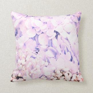 Travesseiro da decoração das flores do Hydrangea Almofada