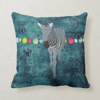 Travesseiro da meia-noite de Mojo da zebra do luar