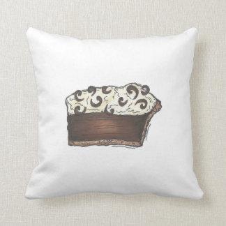 Travesseiro da sobremesa da fatia da torta de almofada