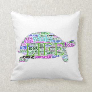 Travesseiro da tartaruga da sabedoria almofada