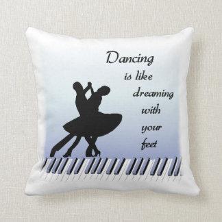 Travesseiro das citações da dança