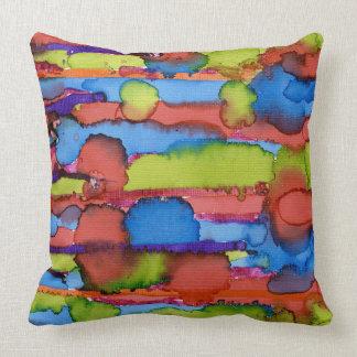 Travesseiro das cores da vida almofada