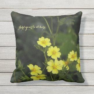 Travesseiro das flores do verão