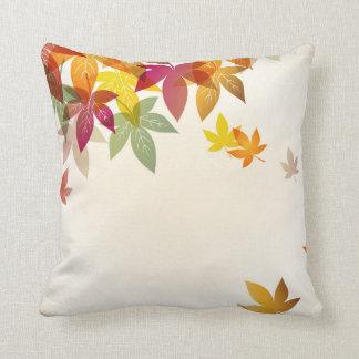 Travesseiro das folhas de outono almofada