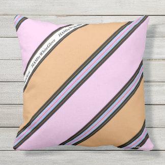 Travesseiro de HAMbyWG - grande - rosa & bege Almofada