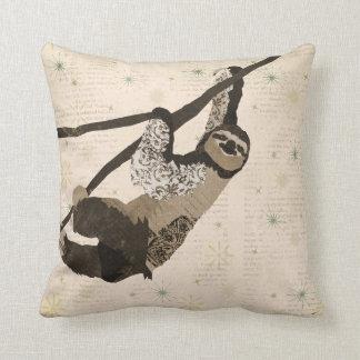 Travesseiro de Mojo da preguiça do vintage