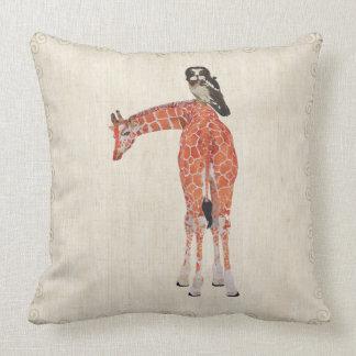Travesseiro de Mojo do girafa & da coruja