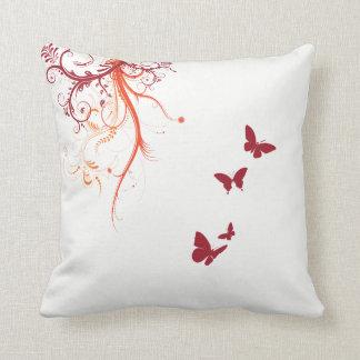 "Travesseiro decorativo 16"" da borboleta do almofada"