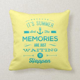 """Travesseiro decorativo 16"""" do verão x 16"""" almofada"""