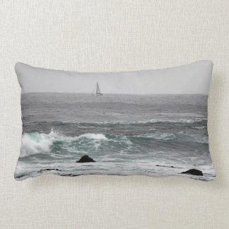 Travesseiro decorativo ausente da vela almofada lombar