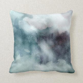 Travesseiro decorativo - cercetas da aguarela almofada