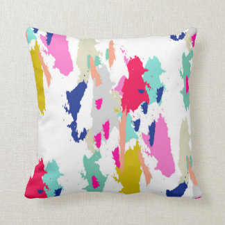 Travesseiro decorativo cor-de-rosa azul verde almofada