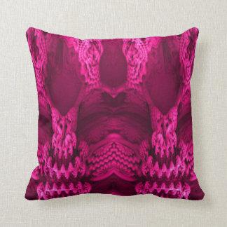 travesseiro decorativo cor-de-rosa da ilusão almofada
