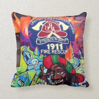 Travesseiro decorativo da arte/grafites da rua de almofada