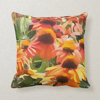 Travesseiro decorativo da flor do cone almofada
