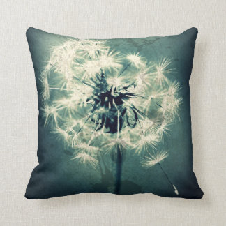Travesseiro decorativo da margarida do verde almofada