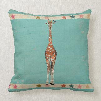 Travesseiro decorativo das estrelas do pássaro do