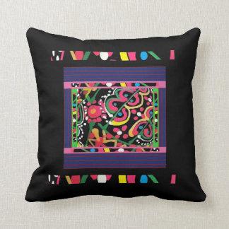 Travesseiro decorativo decorativo da Multi-Cor e Almofada