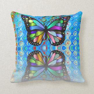 Travesseiro decorativo: Design da borboleta Almofada