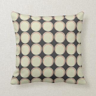 Travesseiro decorativo do basebol