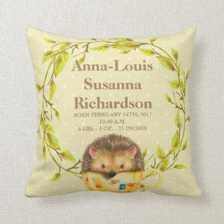 Travesseiro decorativo do bebê do Stats do Almofada