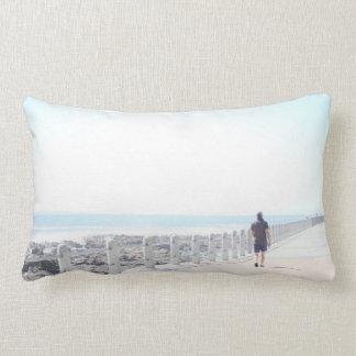 Travesseiro decorativo do caminhante do passeio almofada lombar