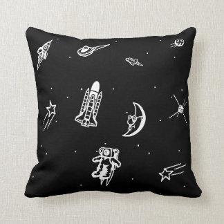 """Travesseiro decorativo do """"espaço"""" almofada"""