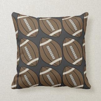 Travesseiro decorativo do futebol