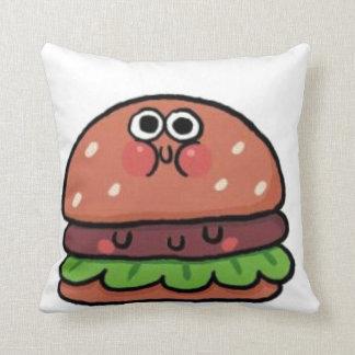 Travesseiro decorativo do Hamburger dos DESENHOS Almofada