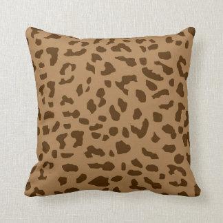 Travesseiro decorativo do impressão da pele da almofada