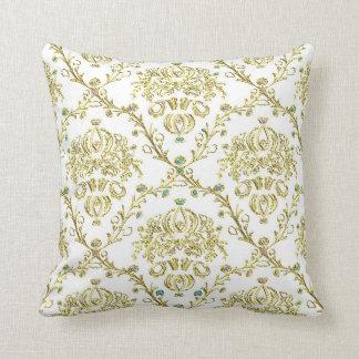 Travesseiro decorativo do olhar do vintage do almofada